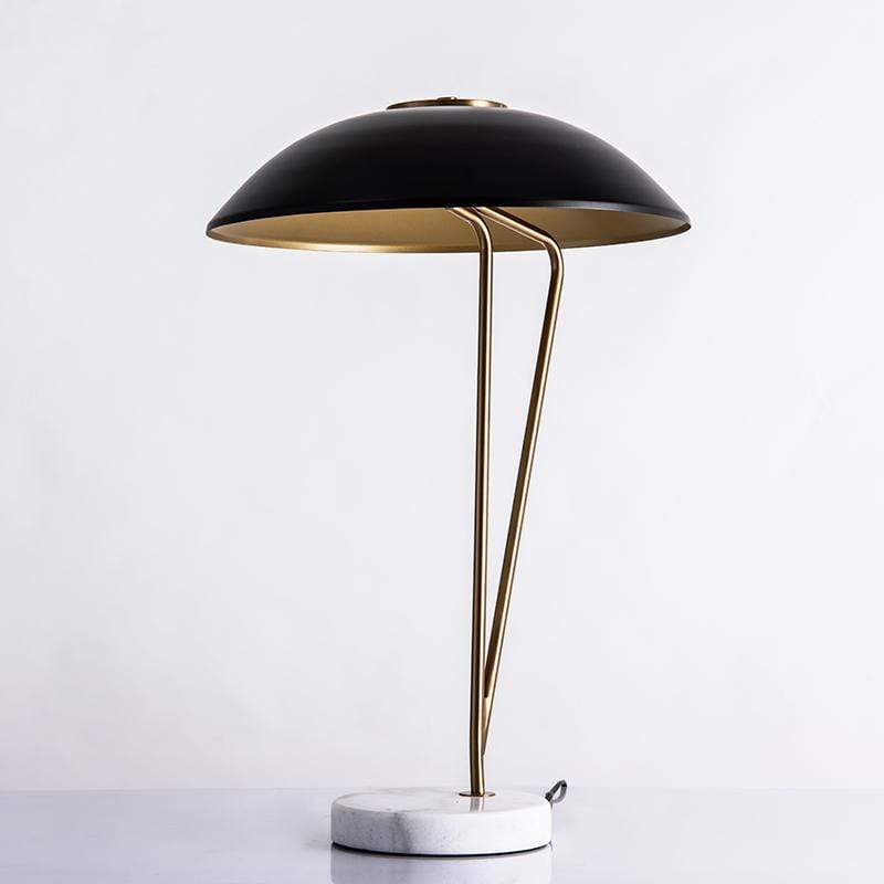 Waverly | Retro Lamp with Marble Base