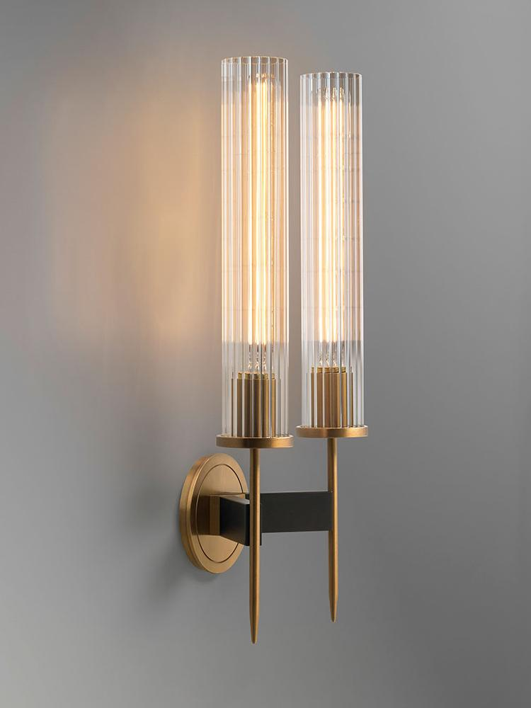 Gyda 2 | Glass Wall Sconce - Home Cartel ®