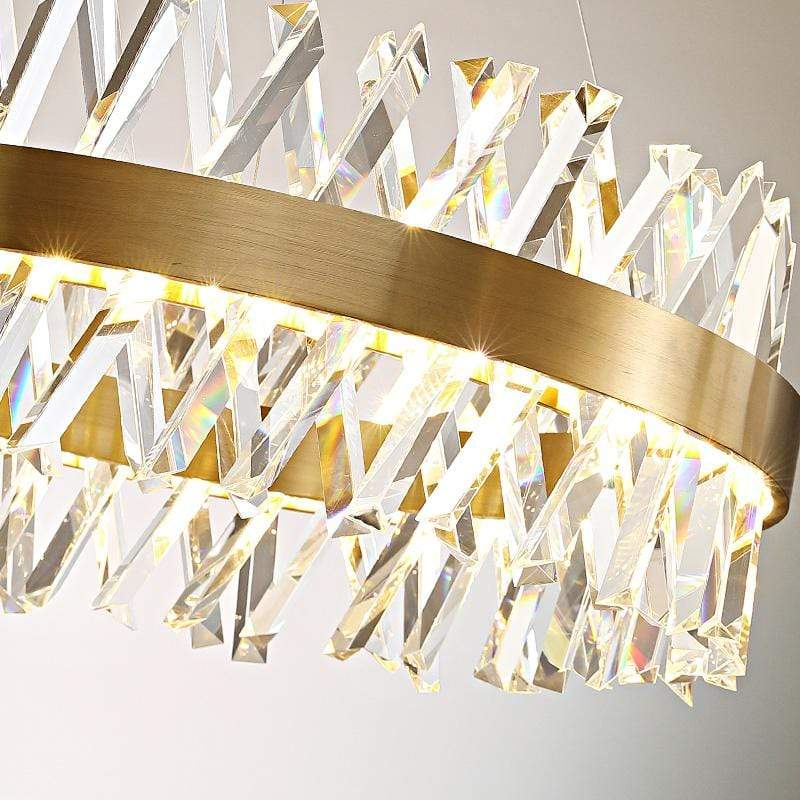 Rivia | Modern Luxxe Crystal Chandelier