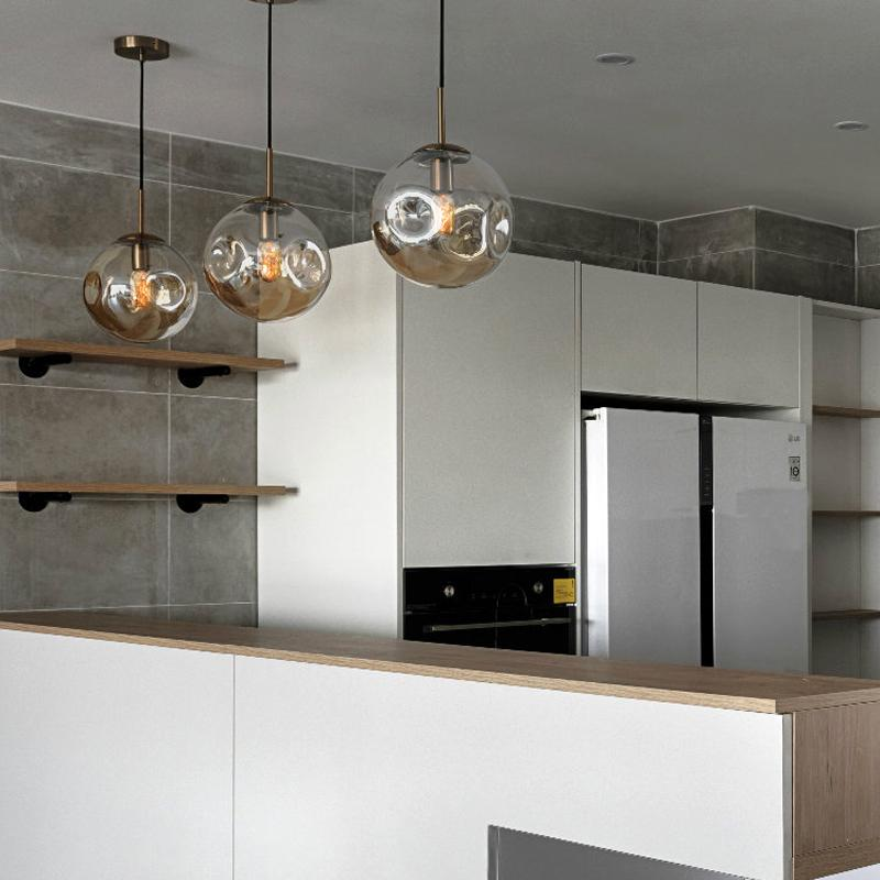 Eli | Glass Pendant Light - Home Cartel ®