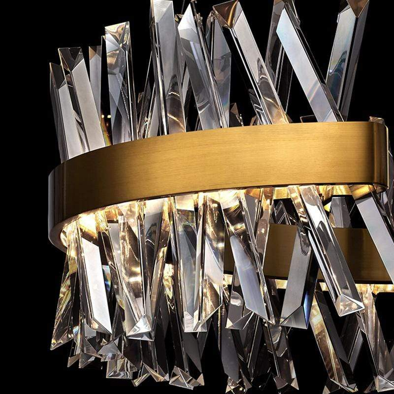 Rivia | Modern Luxe Crystal Chandelier