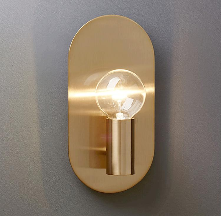 Gold Modern Wall Sconce