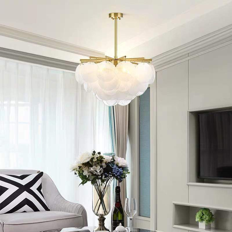 Astrid | Round (Glass) Fringe Chandelier - Home Cartel ®