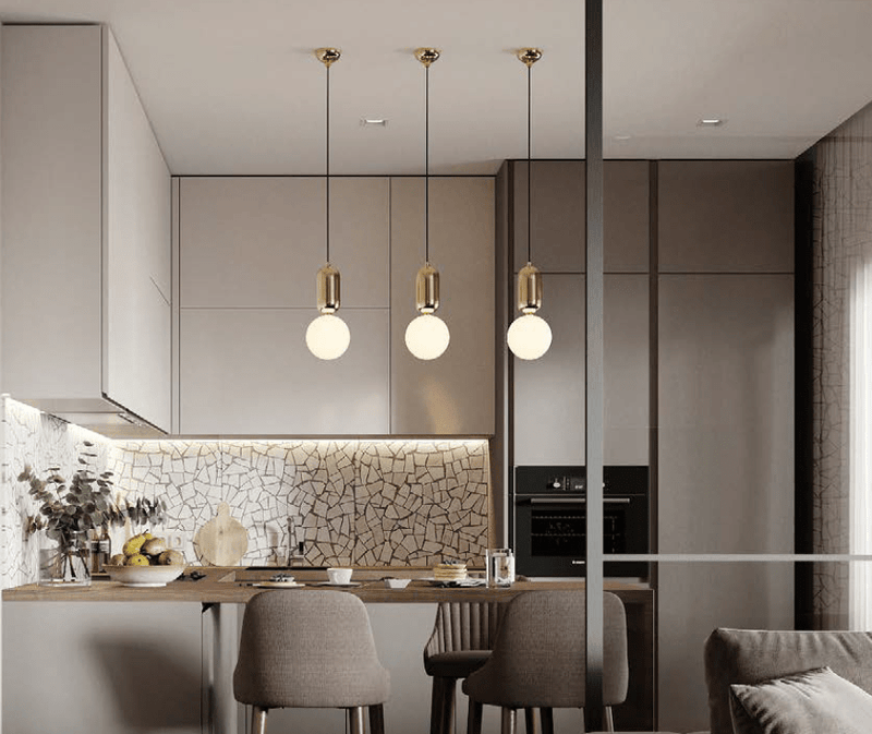 Oviedo | Glass Ball Pendant Light - Home Cartel ®