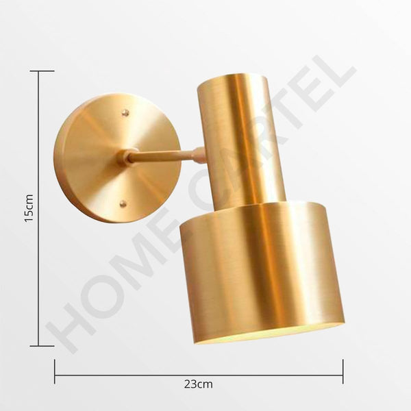 Olin | Wall Sconce Brass - Home Cartel ®