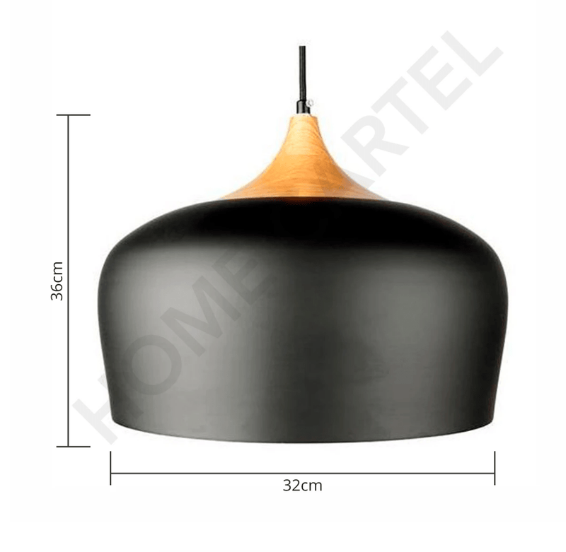 Tove (Black or White) | Nordic Pendant Light - Home Cartel ®