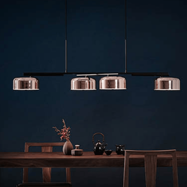 Alois Copper x Black Pendant Light