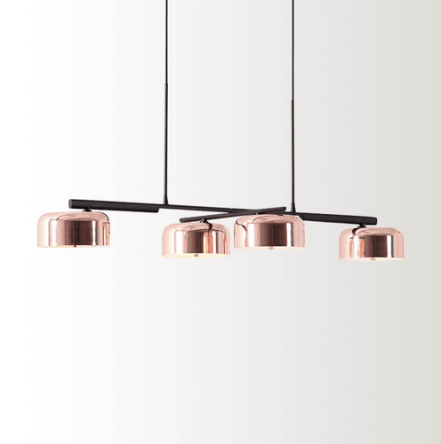 Alois | Copper x Black Pendant Light