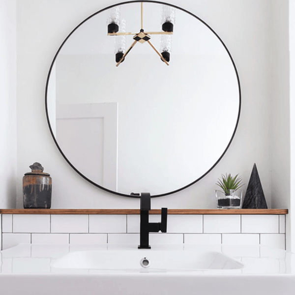 Oslo Mirror Black | 60cm - Home Cartel ®