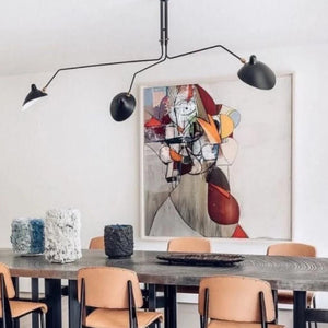 Hagar Black | Mid-Century Chandelier - Home Cartel ®