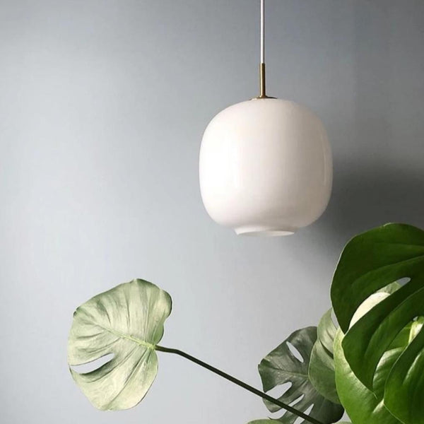 Odense | Brass x Glass Pendant Light - Home Cartel ®