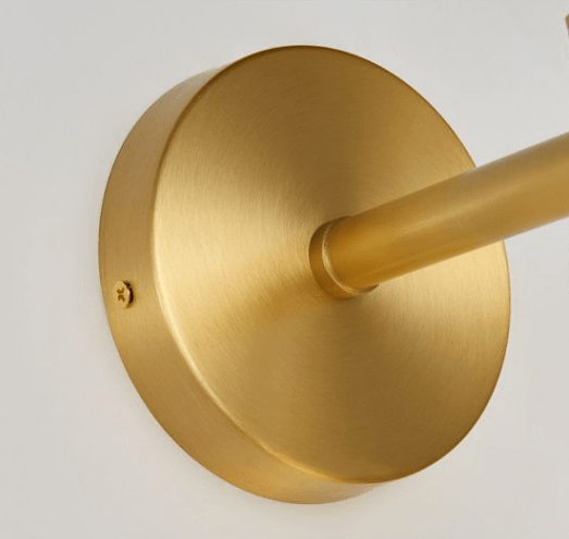 Geeta | Frosted Sphere Modern Wall Sconce