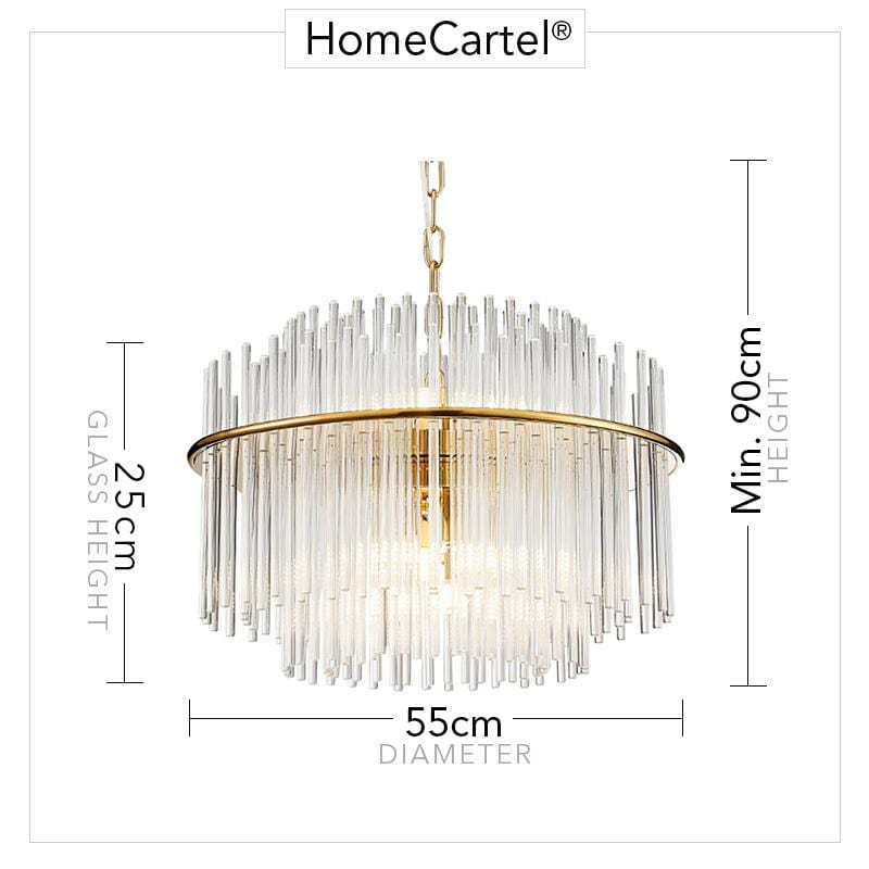 Sissel | Luxe Crystal Chandelier