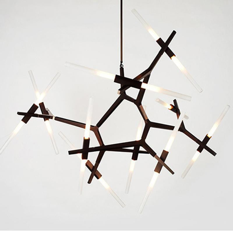 Vita 20 | Frosted Glass Chandelier