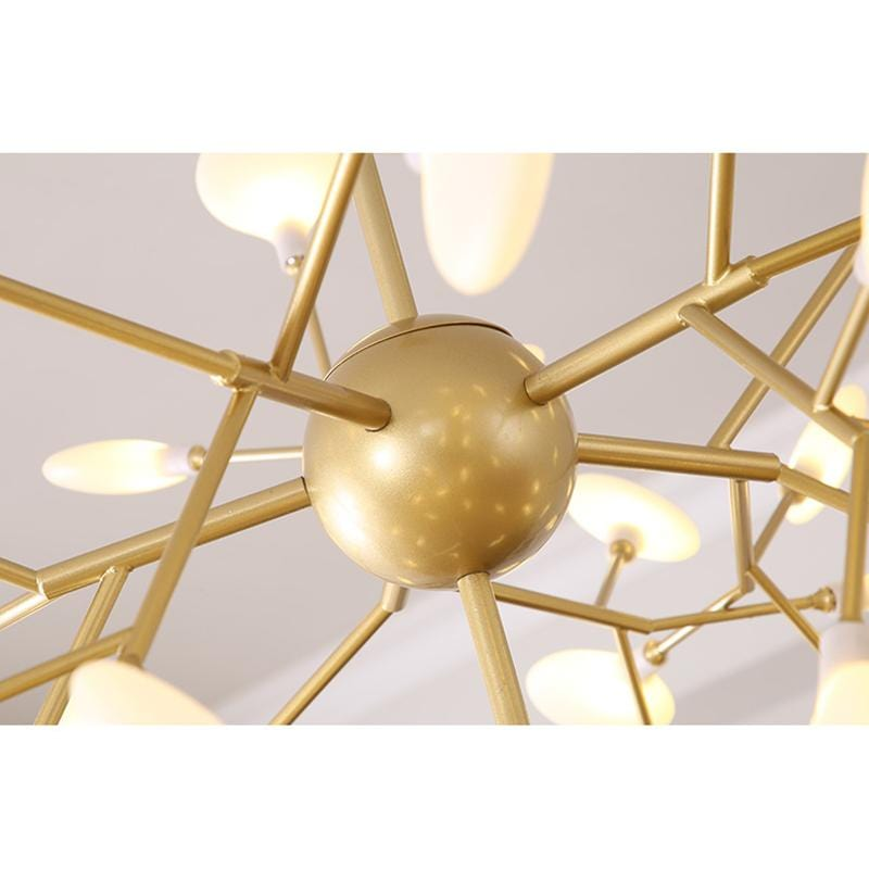 Cadiz | Glass x Gold Chandelier - Home Cartel ®