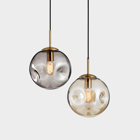 Eli | Smoked Pendant Light - Home Cartel
