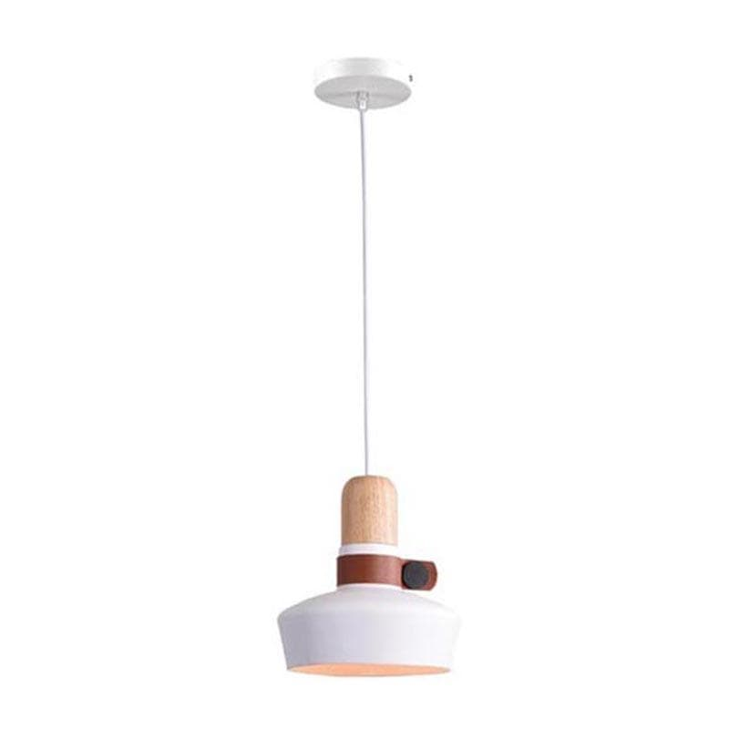 Maja | Nordic Pendant Light with Metal Strap