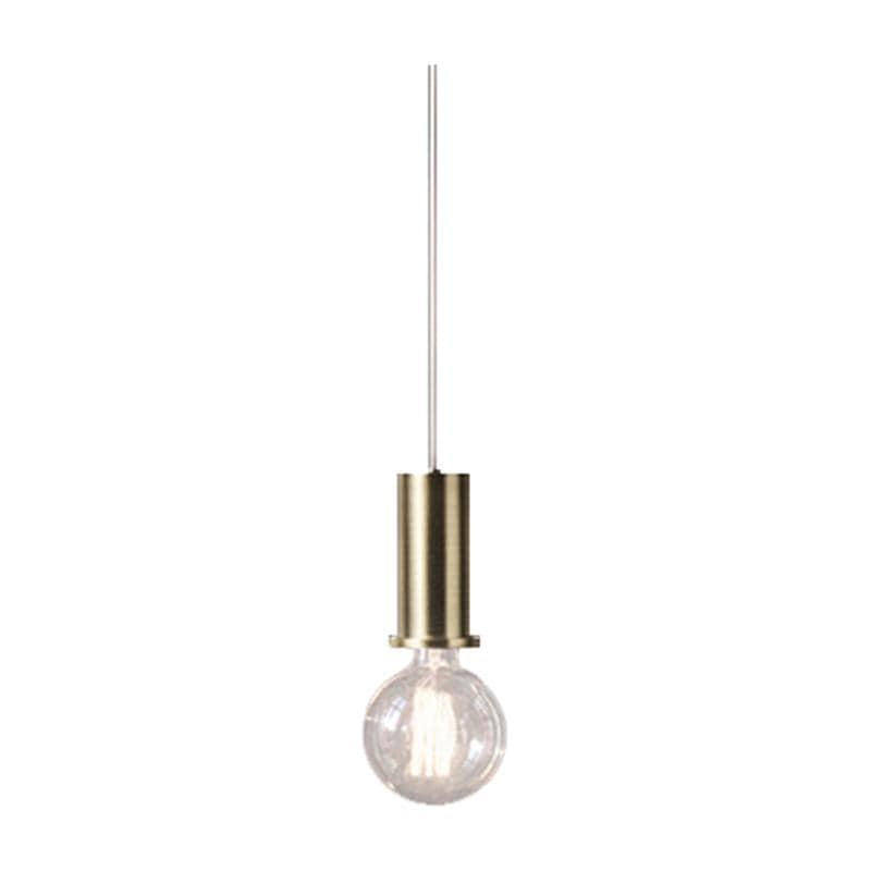 Gia Socket Golden Brass | Pendant Light - Home Cartel ®