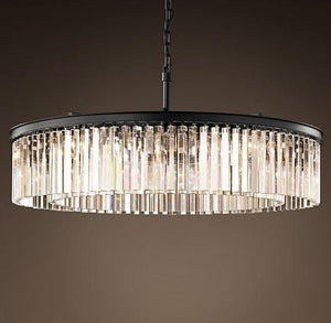 Beaufort | Fringe Luxe Crystal Chandelier (60cm) - Home Cartel ®