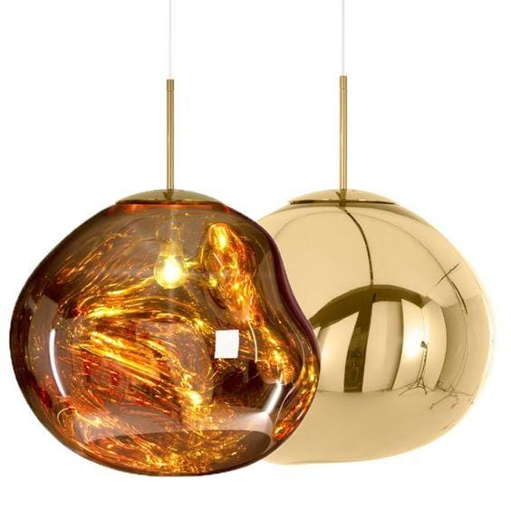 Novigrad Gold | Metallic Lava Pendant Lights - Home Cartel ®