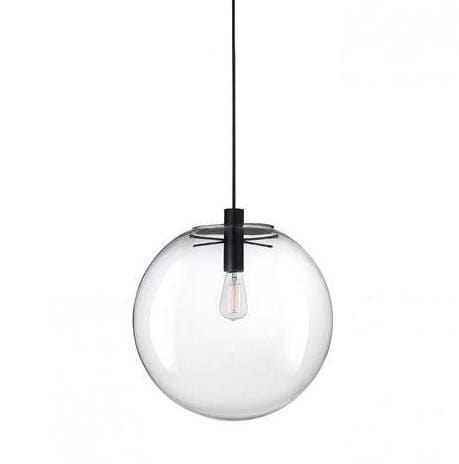 Lisa Black (S) 25cm | Glass Pendant Light - Home Cartel ®