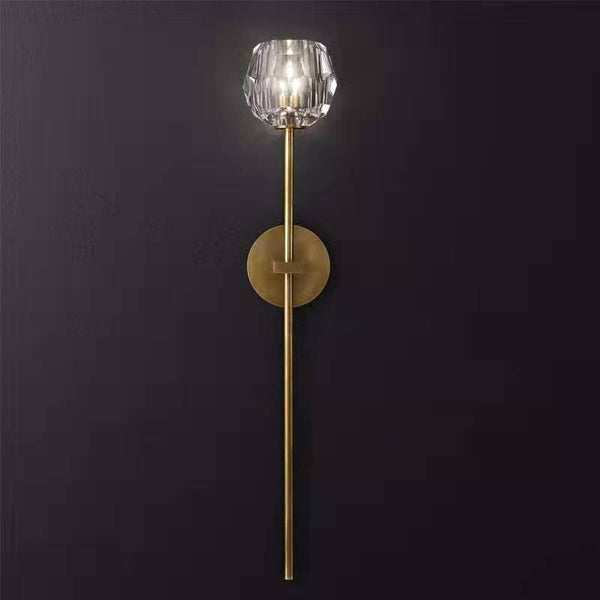 Siv L | Classic Crystal Wall Sconce (colors available) - Home Cartel ®