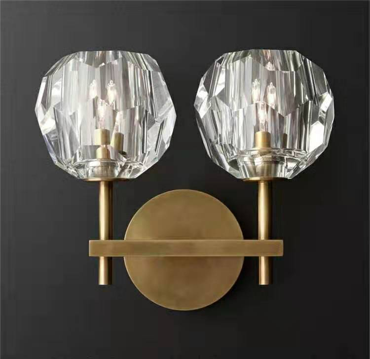 Siv 2 | Classic Cystal Glass Wall Sconce (colors available) - Home Cartel ®