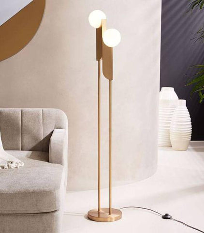 Calen Ball Frost | Floor Lamp - Home Cartel ®