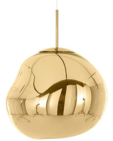 Novigrad Gold (S) | Metallic Glass Pendant Lights - Home Cartel ®