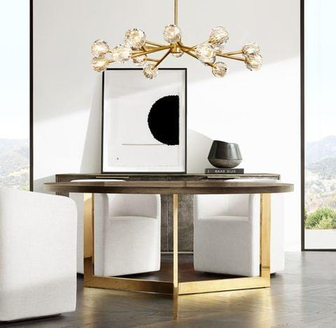 Siv 15 | Brass Luxe Crystal Chandelier - Home Cartel ®