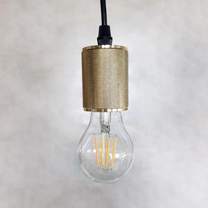 Brooklyn Gold Socket | Pendant Light