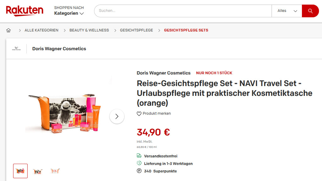 Doris Wagner Cosmetics Signs Deal With RAKUTEN Germany