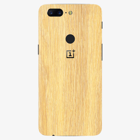 Oneplus 5T Oak Wood Skins