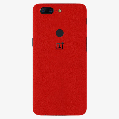 Oneplus 5T True Red Skins