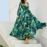 Tropical Beach Maxi Long Dresses