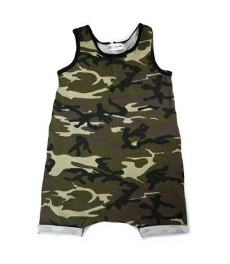 Camo Toddler jumpsuit