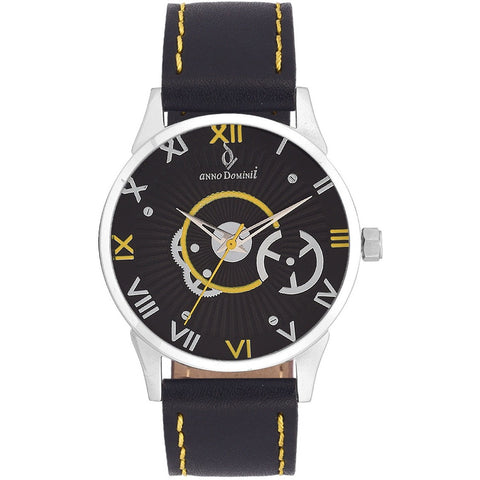 Anno Dominii Machinery Black Men's Analog Wrist Watch_ADW0000329 - www.annodominii.com