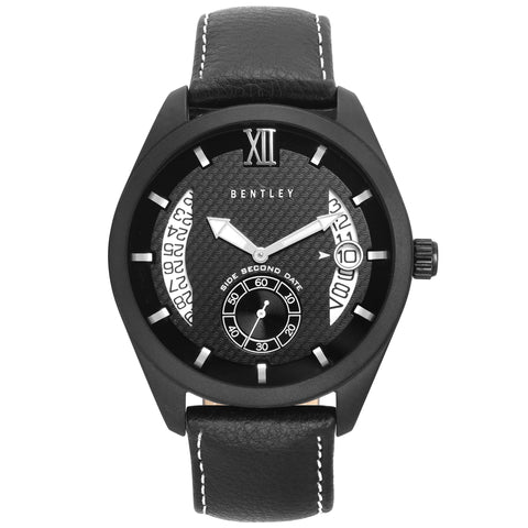 Bentley Captain Multifunction Men's Black Watch-BN0N1T6Y_AAA73