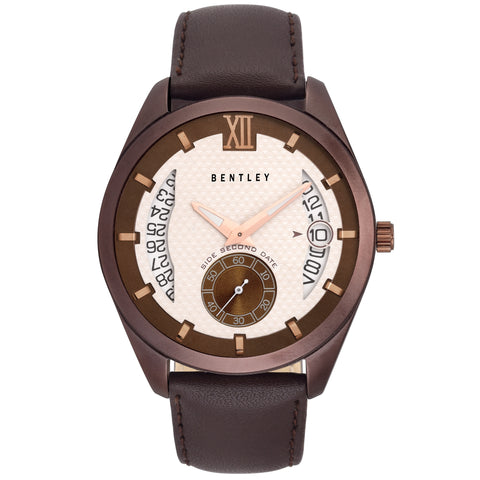Bentley Captain Multifunction Men's Brown Watch-BN0N1T6Y_AAA74
