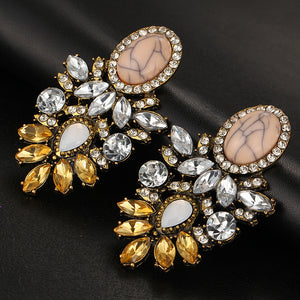 ¨All That Jazz¨ Crystal Earrings