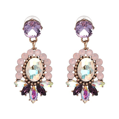 ¨Here and Now¨ Crystal Earrings
