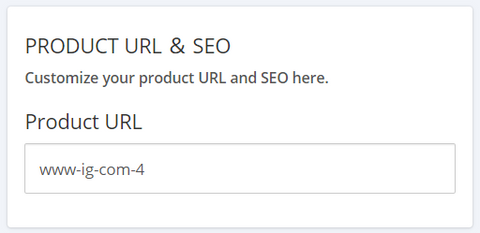 product url, class course listing link