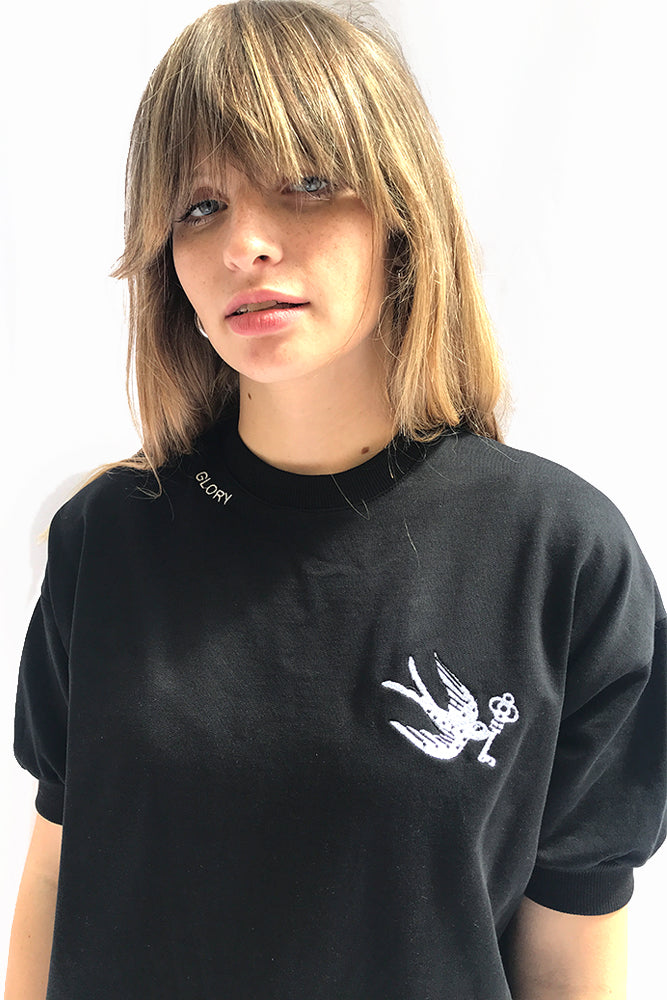 Lightweight Sweatshirt with embroidery