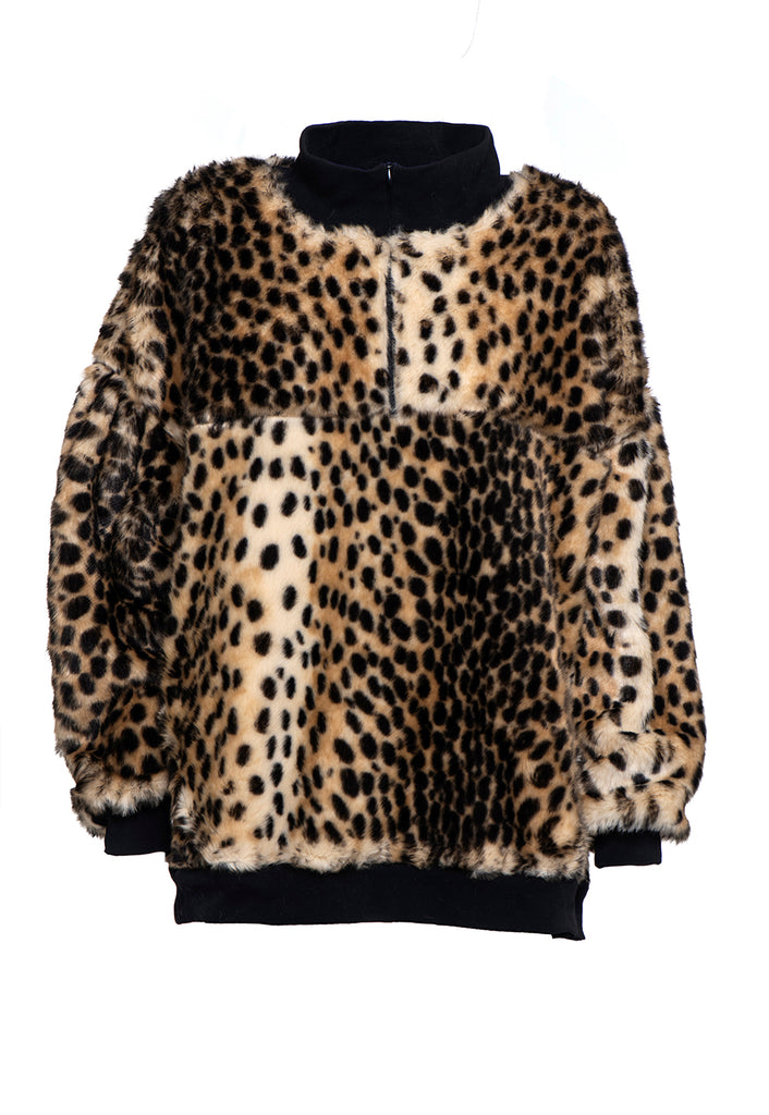 Winter 2021 - The Jacob Sweatshirt - Leopard