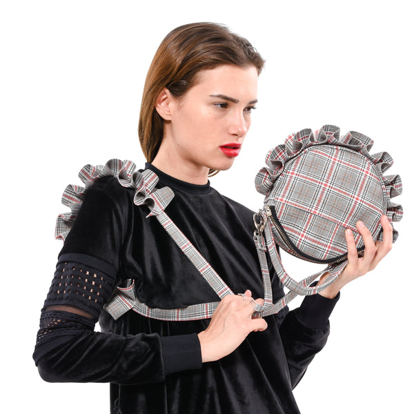 Vegan Checkered Gogo bag