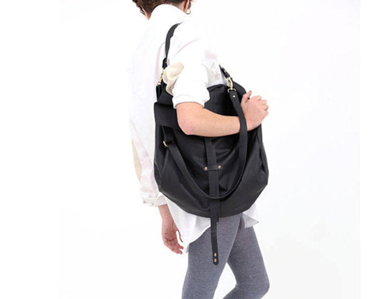 Large Black Hobo Bag