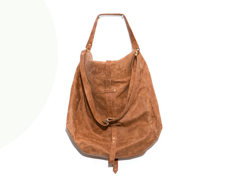 Oversized Soft Leather Bag