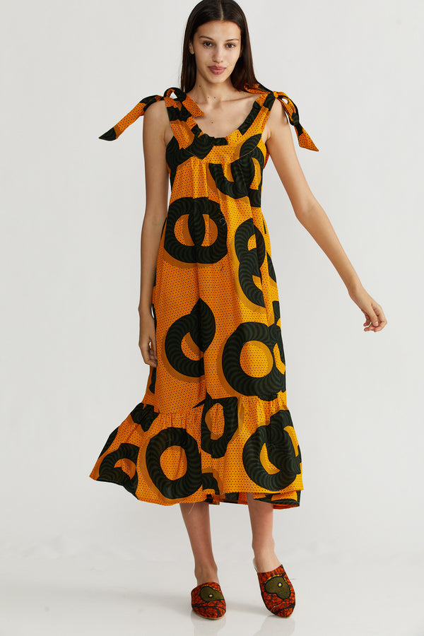 🌞Summer 2021 - Troy dress - Africa Sun