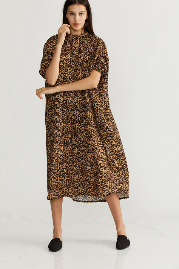 🌞Summer 2021 - Sahara dress - Leopard