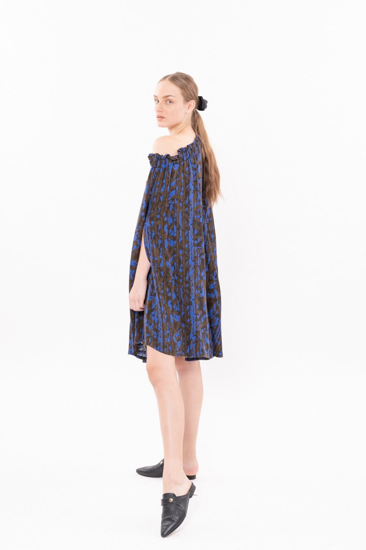 Outlet- Winter 20- Cheers Dress - Blue